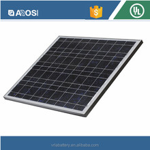 55W 18V Poly Solar Module Panel with All Certificates