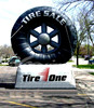 Huge Inflatable Tire for Sale