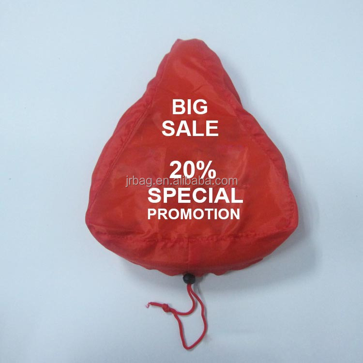 Outdoor waterproof advertised polyester bike seat bags