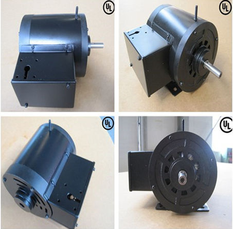 TEFC single phase 220v electric motor