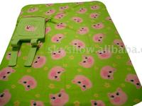 Cheap and High Quality Printed Baby Blanket with Backpack