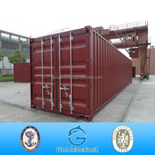 Competitive 40ft new shipping container manufacturer dry container