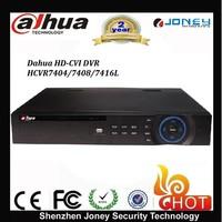 New dahua hdcvi dvr hcvr7404/7408/7416l 4/8/16ch Tribrid HDCVI&Analog&IP 1.5U DVR 4 SATA HDD up to 16TB