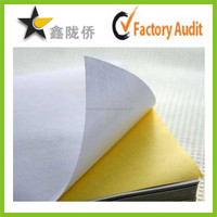 High quality wholesale waterproof vinyl sticker paper