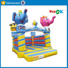 spongebob inflatable bounce house air bouncer inflatable trampoline bulk bouncy balls