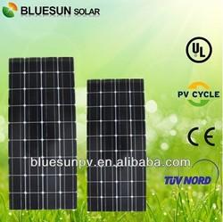Bluesun hot sale 24v cheap price per watt solar panel 150w
