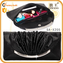 dignity fashion hangbag real leather evening bag clutch bag for dinner party