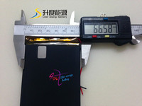 new battery 3766113 3.7v 4000mah battery rechargeable li-ion tablet pc 3.7v 3500mah lipo battery