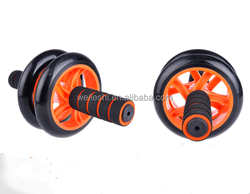 Fitness equipment exercise ab roller, ab roller exercise wheel, ab roller abdominal exerciser.