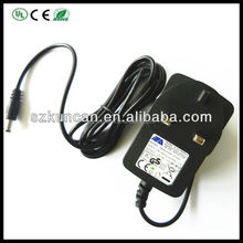 12v Power Adapter For Lcd Monitor/led Uk/eu/us Ac Power Cable
