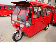 2015 new design solar power electric tricycle on roof