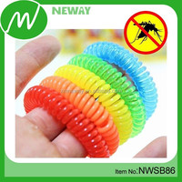 Deet free natural hair band mosquito repellent hand band