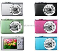 15 MP digital camera + 2.4'' TFT display + 8x digital zoom + anti shake + face detection + sd card slot + lithium battery