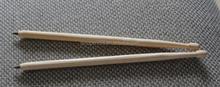 EN71-123 certificated creative art nature wood ball pen drumstick ball pen