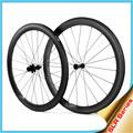 2015 yishunbike t700 estrada de carbono total 26mm u clincher roda de cerâmica rolamentos do cubo da bicicleta do carbono roda