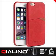 QIALINO Hand-Made Leather Pu Flip Case For Iphone 6S