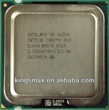 Montado computadora de escritorio intel procesador de la CPU E6550