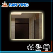 Top quality IP44 rated hotel bathroom LED electric mirror