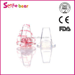 Food grade molding silicone baby nipple/standard caliber silicone baby nipple