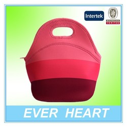 insulated neoprene lunch bag for women kids lunchbags tote with zipper cooler lunch box insulation bag