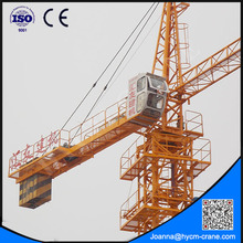 3 to 50m Working range swing level tower cranes