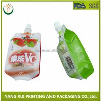 Customized Spout Bag, Juice Drink Spout Pouch Bag,Plastic Bags With Spout