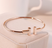 2015 gold plated stainless steel bangle , hot sale fashion stainless steel bangle for young people , new fashion bangle