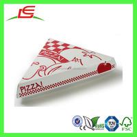 J449 Triangle Shape Disposable Paper Pizza Slice Box Wholesale