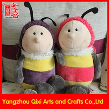 High quality cute soft bee plush toy nici animal plush bumble bee