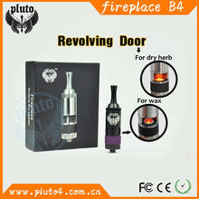 Chinese Supplier Pluto E cig Fireplace Vaporizer both for herbal and Wax