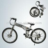 double disc brakes mountain electronic bicycle bike