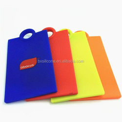 Low price stylish 2015 new products silicone luggage tag