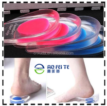 Silicone Gel Heel Cups/Pads 100% Medical Grade Silicone Shoe Insoles