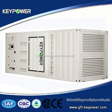 Powered by Mitsubishi, container genset, 50/60hz 795kva, silent open type, high quality, good price, ce iso certified, on sale