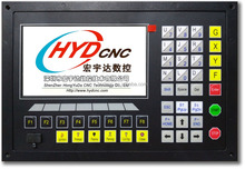 CNC plasma flame cutting controller for plate and tube together cutting pipe control system HYD-2300X