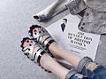 Stripe mulher eva leves sandálias chinelo/flat calçados