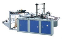 2014 hot sale Heating Sealing and Cold Cutting vest Bag Making Machine