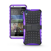 Phone Case TPU&PC Kickstand Case Hybrid Impact Armor Back Cover For HTC HTC Desire 820 Case