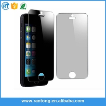 High quality 0.3mm Curve privacy glass and mirror tempered glass screen protector