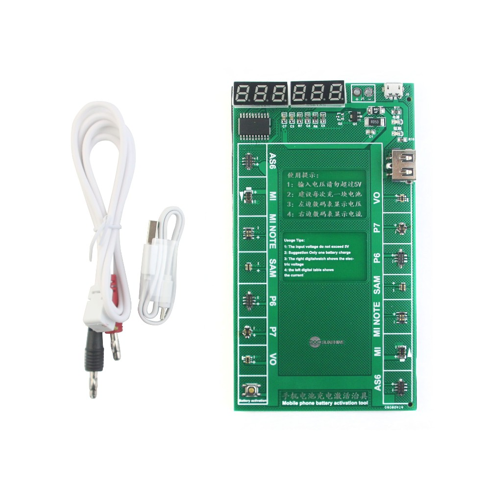 Sunshine Ss 902 Battery Charger Activation Plate Activated Charge Electronic Circuit Boardcircuit Board For Power Supply Can Activate Tha Batteries Not During Long Time Storgewhich You Need To Use Ativation Connect The