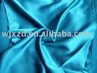 polyester and cotton bubble satin fabric