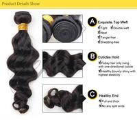 cheap human hair weaving virgin brazilian and peruvian hair brazilian human hair wet and wavy weave