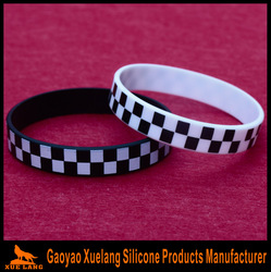 cheapest persoalized ink filled bracelet silicone