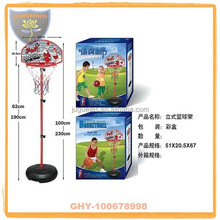 Children movable basketball stands with hoop and safety certificate