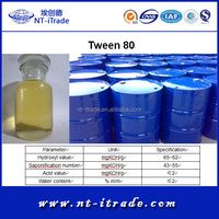 Free sample---Food grade Polyoxyethylene Sorbitan Monooleate from Factory Directly