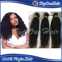 Unprocessed mongolian kinky curly human hair extensions Wholesale virgin mongolian kinky curly hair weave