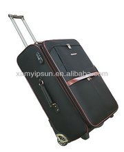 1680D leather trolly luggage