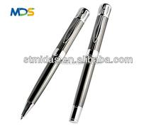 gun metal pen ,commercial logo pen, engraving pen / metal roller ball pen for gift and promotion,