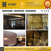 Metal Coil Drapery/wire mesh room divider/ metal curtain