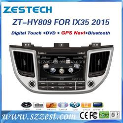 car dvd gps for Hyundai ix35 2015 dvd gps with player radio BT RDS 3G V-10disc ZT-HY809